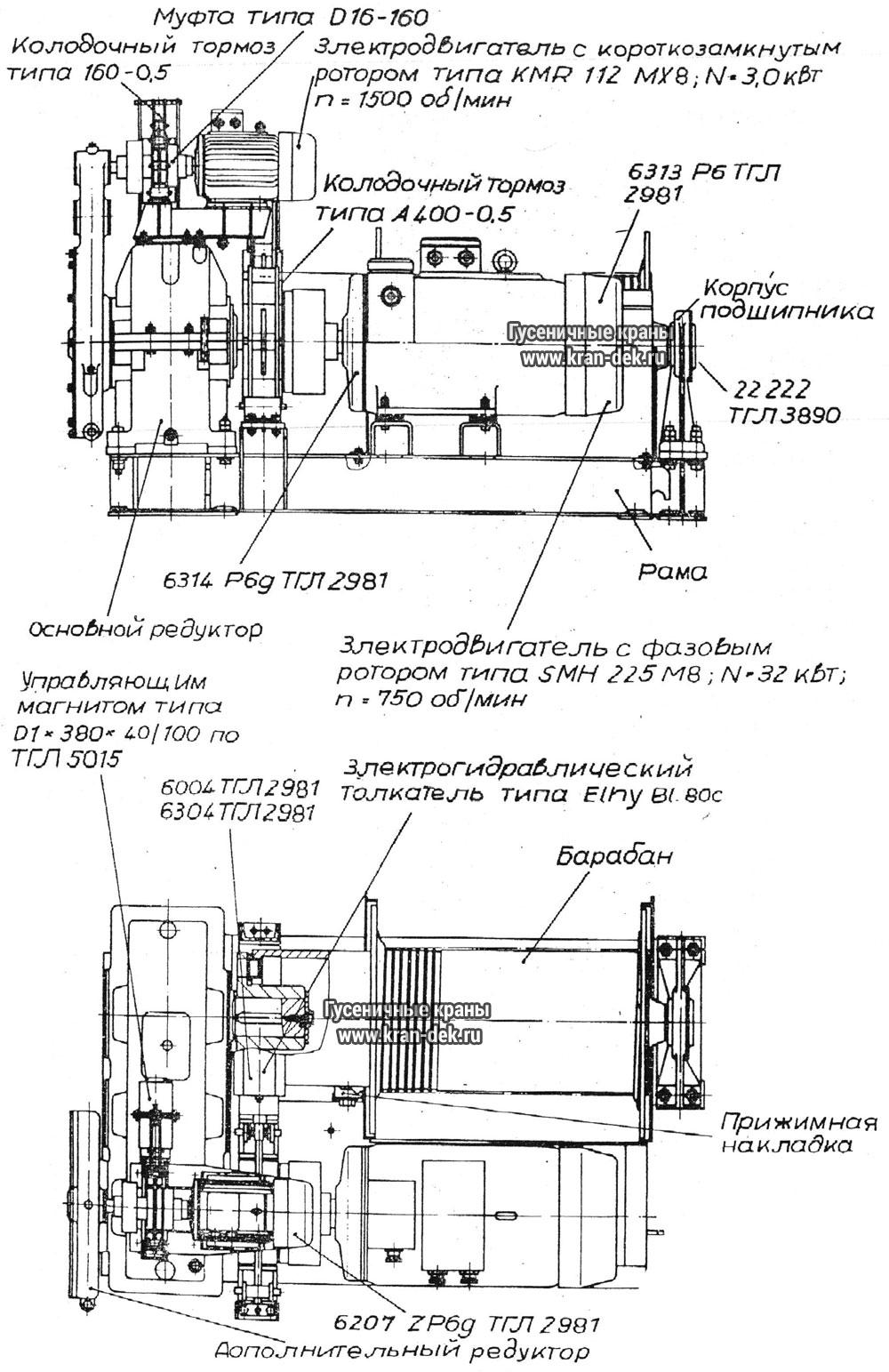 Кран рдк 250 схема электрическая фото 274